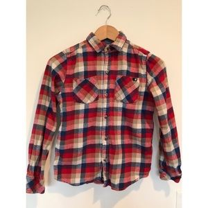 Lucky Brand Boys Check Flannel Shirts